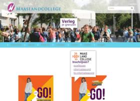 maaslandcollege.nl