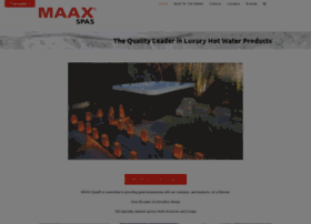 maaxcollectionhottubs.com