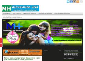 macaparanahoje.com