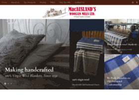 macauslandswoollenmills.com
