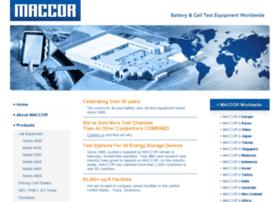 maccor.com
