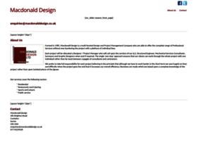 macdonalddesign.co.uk