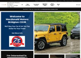 macdonaldmotors.com
