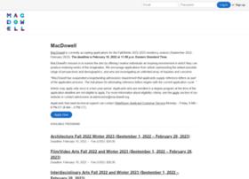 macdowell.slideroom.com
