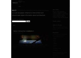 mace-project.eu