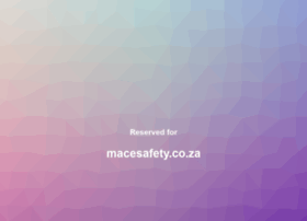 macesafety.co.za