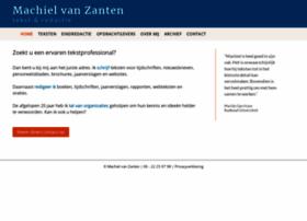 machielvanzanten.nl