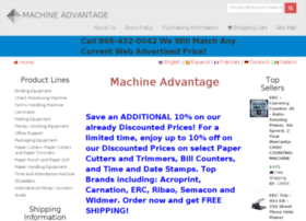 machineadvantage.com
