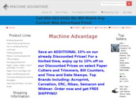 machineadvantage.com