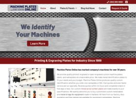 machineplatesonline.com