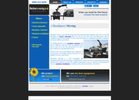 machinery-moving.co.uk