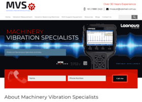 machineryvibrationspecialists.com.au
