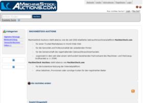 machinestock-auctions.com
