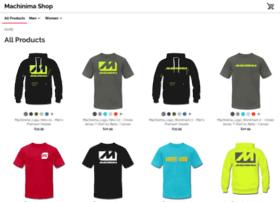 machinima.spreadshirt.com