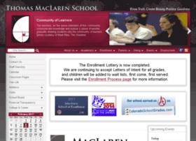 maclaren.schoolfusion.us