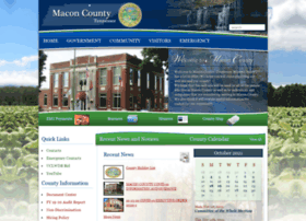 com macon county tennessee community web site macon county