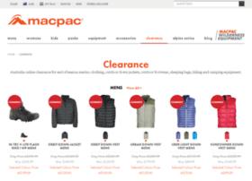 macpac-outlet.com.au