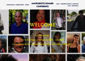 macrobioticsummerconference.com