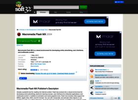 macromedia-flash-mx.soft32.com