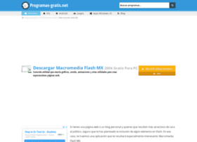 macromedia-flash-mx2004.programas-gratis.net