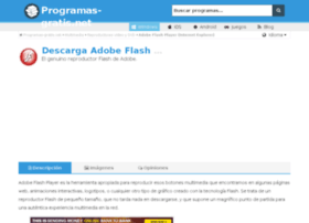 macromedia-flash-player.programas-gratis.net
