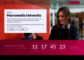 macromedia-university.com