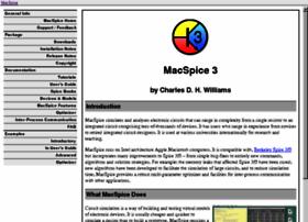 macspice.com