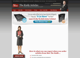 Mactheknifearticles.com