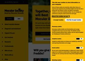 macularsociety.org
