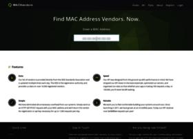 macvendors.com