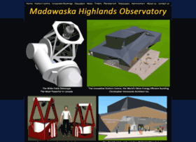 madawaskahighlandsobservatory.com