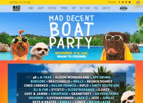 maddecentboatparty.com