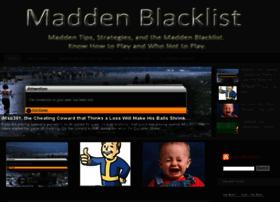 maddenblacklist.com