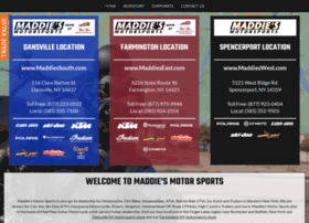 maddiesmotorsports.com