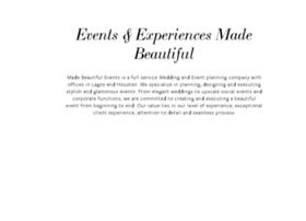 madebeautifulevents.com