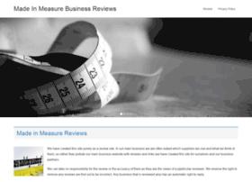 madeinmeasure.com