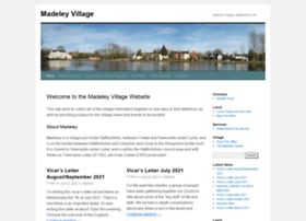 madeleyvillage.co.uk
