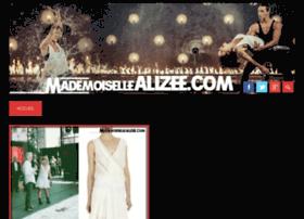 mademoisellealizee.com