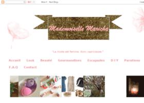 mademoisellemaricha.com