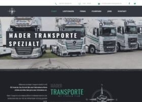 mader-transporte.de