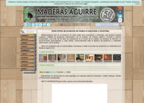 maderasaguirre.com