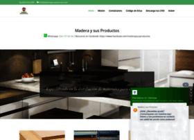 maderaysusproductos.com