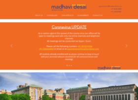 madhavidesai.com
