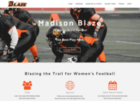 madisonblazefootball.com