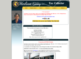 madisoncountytaxcollector.com