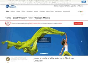 madisonhotelmilano.com
