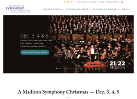 madisonsymphony.org