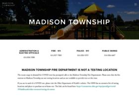 madisontownship.org