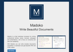 madoko.net