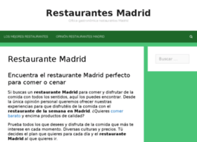 madrid-restaurantweek.com